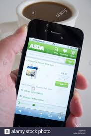Home 4g by Home Shopping Online At Asda Using Mobile App On An Iphone 4g