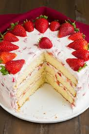 Decorate Cake With Strawberries – 88 Examples Cakes That Embody