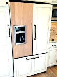 fridge that looks like cabinets cabinet fridge gallery of simple built in refrigerator cabinets mini