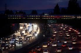 Traffic Map San Francisco by San Jose Region U0027s Traffic Congestion Delays Hit A New High