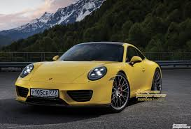 yellow porsche 911 2019 porsche 911 imagined with modern design