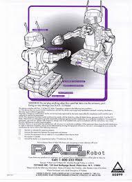 the old robot u0027s web site r a d 1 0 2 0 3 0 4 0 family