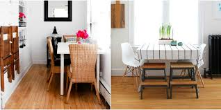 tiny home dining table small space seating tricks how to add more seating to tiny homes