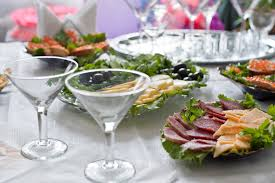 wedding cocktail food