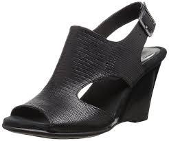 aerosoles plush pillow open toe wedge sandals shoes