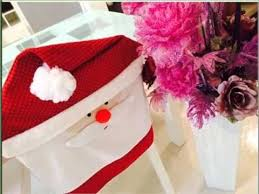 santa chair covers dining chair covers diy decoration picture ideas for