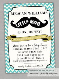 man baby shower invitations cimvitation