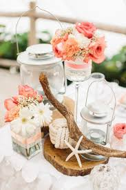 Table Decorations Centerpieces by Best 25 Beach Wedding Centerpieces Ideas On Pinterest Beach