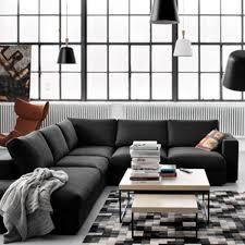 revetement canap d angle canapé d angle design pour moderniser un salon côté maison