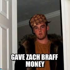 Zach Braff Meme - gave zach braff money scumbag steve meme on memegen