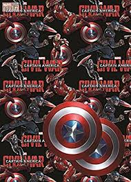 marvel wrapping paper marvel captain america wrapping paper gift wrap