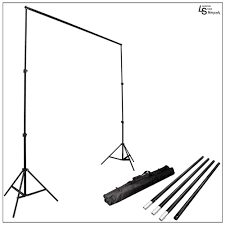 photography backdrop stand photography and lighting kit with green black white muslin