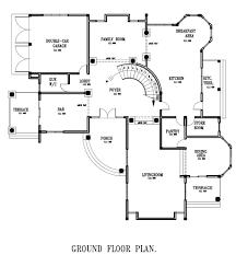 4 beds 4 5 baths 7 211 sq ft home plan kokroko house plan ghana house plan ground floor
