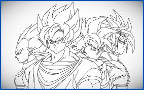 imagenes de goku para dibujar faciles con color chidos dibujos de dragon ball para colorear dibujos de dragon ball z