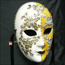 mardi gras masks for women men venetian jester joker masquerade wall mask bells