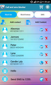 how do i block text messages on my android sms blocker call blocker android apps on play