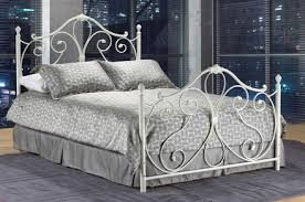 Metal Frame Bed Queen Bedroom Furniture Hometown Furniture Ltd