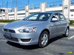 2009 Mitsubishi Lancer Es In Apex Silver Metallic 017395