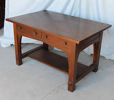 arts and crafts table for limbert antiques ebay
