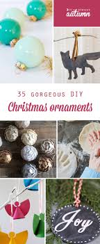 35 beautiful diy handmade ornaments