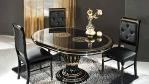 Black Dining Room Set Kitchen Table Cool Glass Dining Table Set Kitchen Table Top