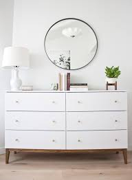Best Ikea Dresser How To Make An Ikea Dresser Look Like A Midcentury Splurge
