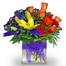flower delivery cincinnati wishing you a rainbow by nature nook cleves oh florist nature