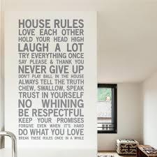 products page 2 wallboss wall stickers wall art stickers uk house rules wall sticker