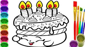 birthday cake coloring pages happy birthday cake colouring book