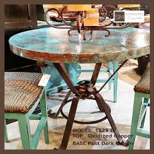 Copper Top Dining Room Tables 100 Copper Top Dining Room Tables Charles Iron Dining Table