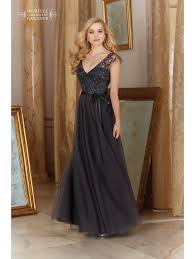 charcoal grey bridesmaid dresses mori 154 tulle with lace top dress charcoal grey