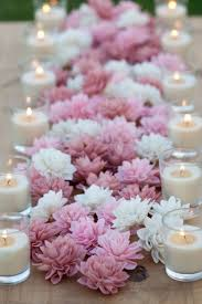 wedding flowers decoration 10 blush wooden flowers wedding decorations wedding flowers