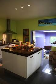 cuisine verte et marron nuancier bleu pour chambre