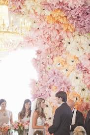 photo backdrop paper in bloom gorgeous paper flower ideas for your wedding hey