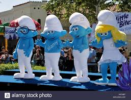 smurf characters stock photos u0026 smurf characters stock images alamy