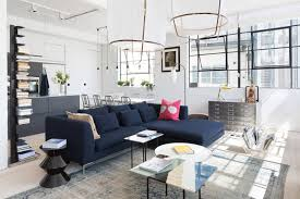 navy sofa living room 4 ways to use navy home decor to create a modern blue living room