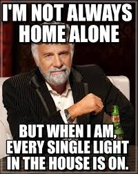 Home Alone Meme - i m not always home alone on memegen