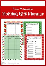 christmas gift planner printable the gracious wife