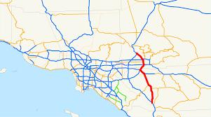 Csusb Map Interstate 215 California Wikipedia