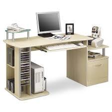 bureau informatique avec rangement informatique kong avec tiroir de rangement couleur rable charmant