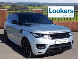 land rover sport 2016 land rover range rover sport sdv6 hse dynamic silver 2016 09 28