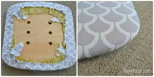 how to cover a chair how to reupholster chairs