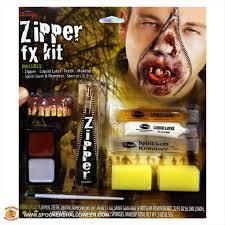zipper fx kit halloween costume makeup spookers halloween