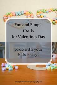 fun and simple crafts for valentines day simple crafts craft
