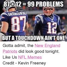 Funny New England Patriots Memes - 84012 egg problems but atouchdowniain tone gotta admit the new