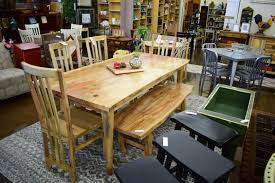 the recycled room consignment interiorstropical salvage dining table
