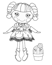 lalaloopsy coloring pages getcoloringpages com