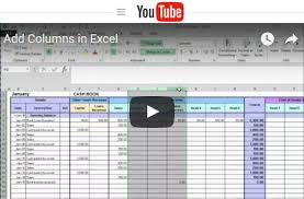 Small Business Accounting Excel Template Free Excel Bookkeeping Templates