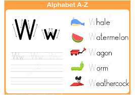 letter w tracing worksheet free printable puzzle games