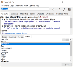thesaurus beautiful wordweb english dictionary thesaurus and word finder software